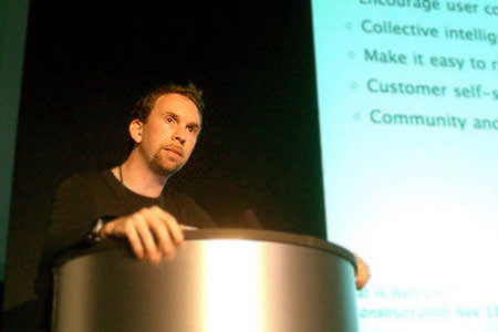 Andy Budd at dConstruct 2005