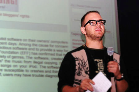 Cory Doctorow at dConstruct 2005
