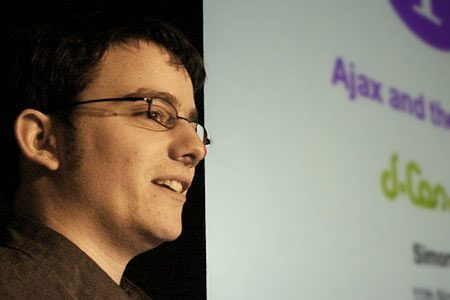 Simon Willison at dConstruct 2005