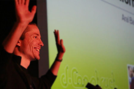 Aral Balkan at dConstruct 2006