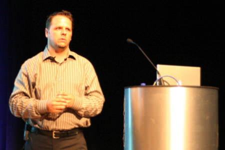 Derek Featherstone at dConstruct 2006