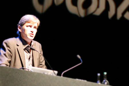 Steven Johnson at dConstruct 2008