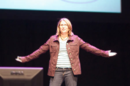 Samantha Warren at dConstruct 2010